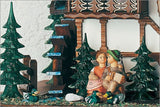 "Schneider 23"" Musical Kissing Couple Eight Day German Cuckoo Clock - GermanGiftOutlet.com  - 2"