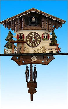 Black Forest Chalet German Cuckoo Clock - GermanGiftOutlet.com