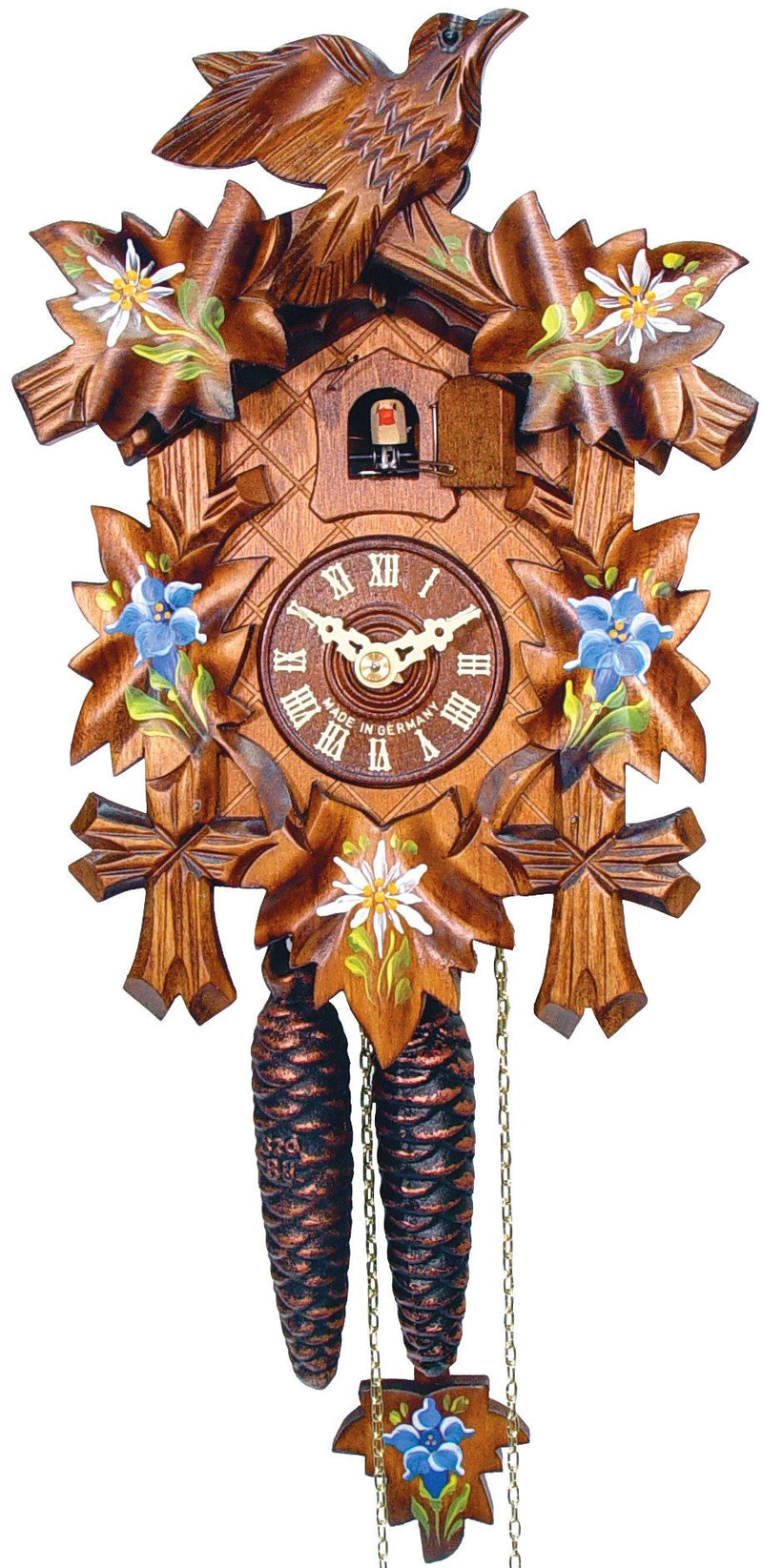 Black Forest One Day German Cuckoo Clock - GermanGiftOutlet.com