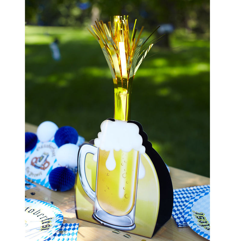 "15"" Oktoberfest Party Beer Mug Centerpiece - GermanGiftOutlet.com  - 4"