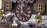 "Schneider Black Forest 13"" Musical Wood Chopper and Sawyer Eight Day Movement German Cuckoo Clock - GermanGiftOutlet.com  - 2"