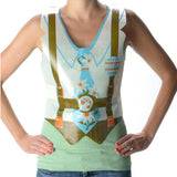Plastic Oktoberfest Lederhosen Costume Vests Pack of 48 - GermanGiftOutlet.com  - 2