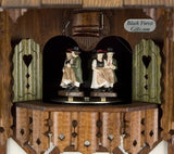 "15"" Musical Sawyer and Wood Chopper Eight Day German Cuckoo Clock - GermanGiftOutlet.com"