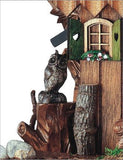 "Schneider 12"" Black Forest Wood Chopper Eight Day Movement German Cuckoo Clock - GermanGiftOutlet.com  - 2"