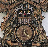 "Schneider Black Forest 23"" Musical Antique Hunter Theme Eight Day Movement German Cuckoo Clock - GermanGiftOutlet.com  - 3"