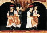 "Schneider German Black Forest 11"" Musical Beer Drinkers on Teeter-totter Eight Day Cuckoo Clock - GermanGiftOutlet.com  - 3"