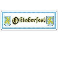 Oktoberfest Sign Banner Party Accessory - GermanGiftOutlet.com
