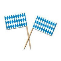 Oktoberfest Decoration Appetizer Picks - GermanGiftOutlet.com