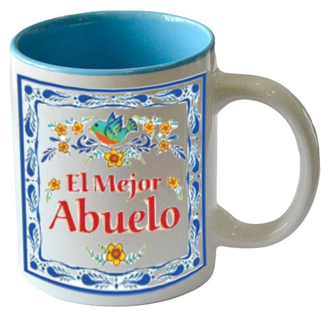 """El Mejor Abuelo"" Coffee Mug Great Gift Idea for Abuelo - GermanGiftOutlet.com"