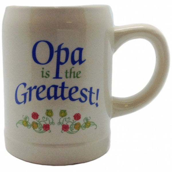"Gift for Opa German Coffee Cup: ""Opa is the Greatest"" - GermanGiftOutlet.com  - 1"