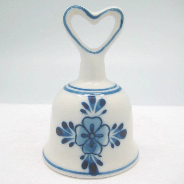 Collector Windmill Blue and White Bell with Heart - GermanGiftOutlet.com  - 2