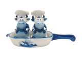 Cows Salt and Pepper Shakers: Chef Cows - GermanGiftOutlet.com  - 1