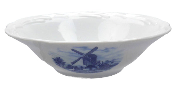 Porcelain Delft Blue Bowl - GermanGiftOutlet.com