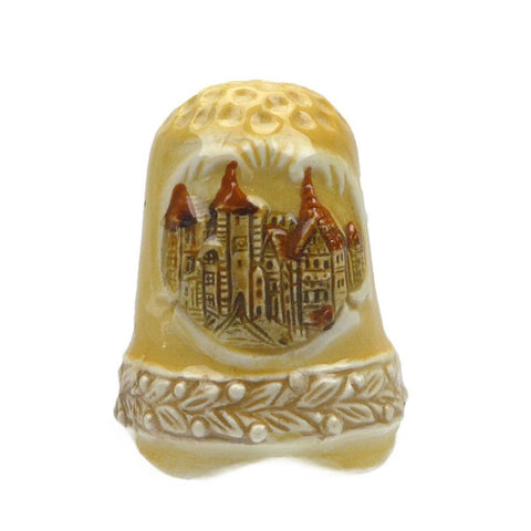 Engraved Rothenburg Germany Thimble - GermanGiftOutlet.com