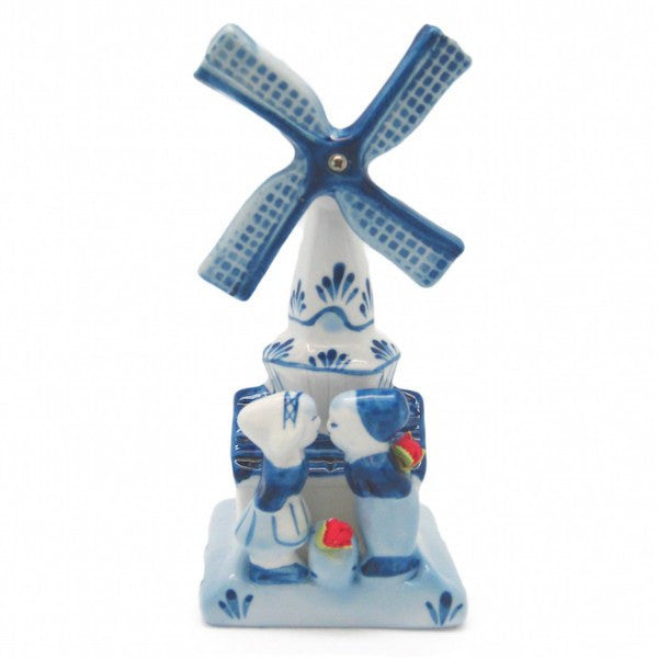 Decorative Windmill & Kissing Couple - GermanGiftOutlet.com  - 1