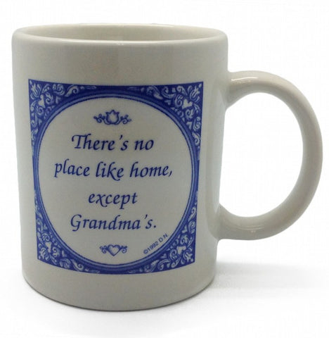 No Place Like Grandma's Ceramic Coffee Mug - GermanGiftOutlet.com  - 1