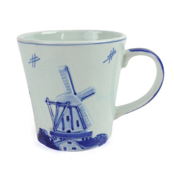Deluxe Embossed Windmill Coffee Mug - GermanGiftOutlet.com
