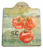 Ceramic Cheeseboard w/ Cork Backing: Tomatoes - GermanGiftOutlet.com  - 1