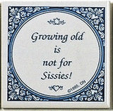 Inspirational Wall Plaque: Growing Old Not.. - GermanGiftOutlet.com  - 1