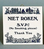 Inspirational Wall Plaque: Niet Roken (Dutch) - GermanGiftOutlet.com  - 1