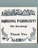 Inspirational Wall Plaque: Roking Forbudt - GermanGiftOutlet.com  - 1
