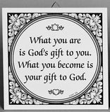 Inspirational Wall Plaque: God's Gift - GermanGiftOutlet.com  - 1