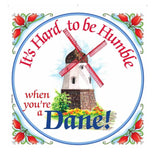 Kitchen Wall Plaques: Humble Dane
