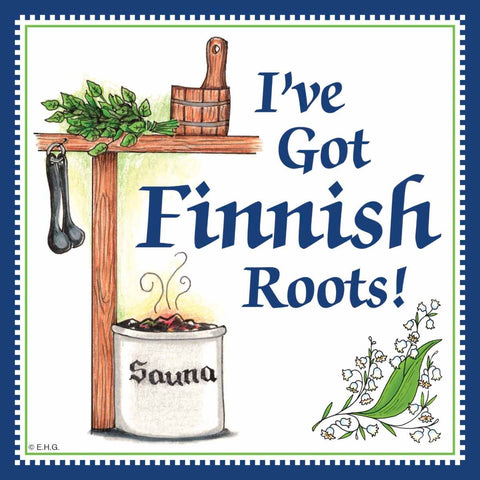 Kitchen Wall Plaques: Finnish Roots
