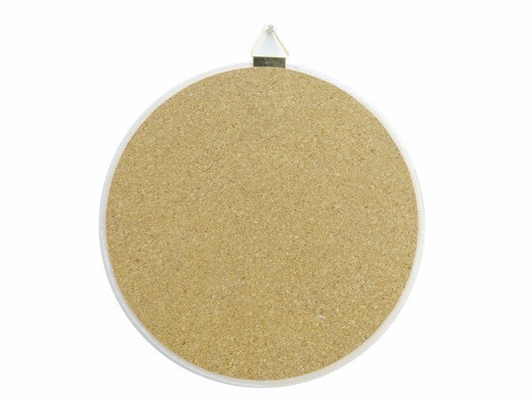 Round Ceramic Plaque: Edelweiss - GermanGiftOutlet.com  - 2