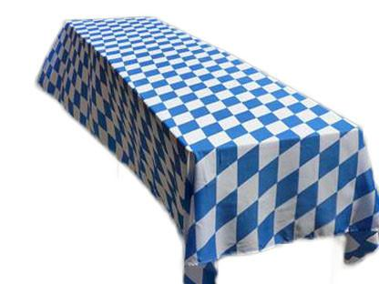 Oktoberfest Polyester Tablecloth Party Supply - 54x96 inches, Bavarian Blue White Checkers, Bayern, Collectibles, Flags, German, Germany, Home & Garden, L, Medium, New Products, NP Upload, Oktoberfest, PS- Oktoberfest Decorations, PS- Oktoberfest Essentials-All OKT Items, PS- Oktoberfest Table Decor, Size, Small, Table Linens, Tablecloths, Tableware, Top-GRMN-B, Yr-2016, Yr-2017
