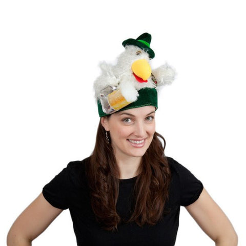Oktoberfest Hat Chicken in Lederhosen - GermanGiftOutlet.com  - 1