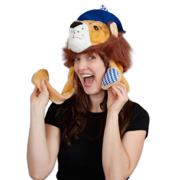 Oktoberfest Lion Hat - GermanGiftOutlet.com  - 1