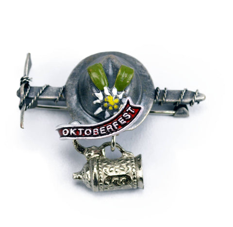 German Hat Pin: Oktoberfest - GermanGiftOutlet.com