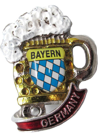 Oktoberfest Beer Mug Deluxe Collectible German Hat Pin - 1 - GermanGiftOutlet.com