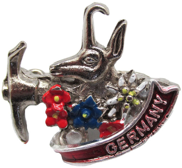 Alpine Axe Deluxe Collectible German Hat Pin - 1 - GermanGiftOutlet.com