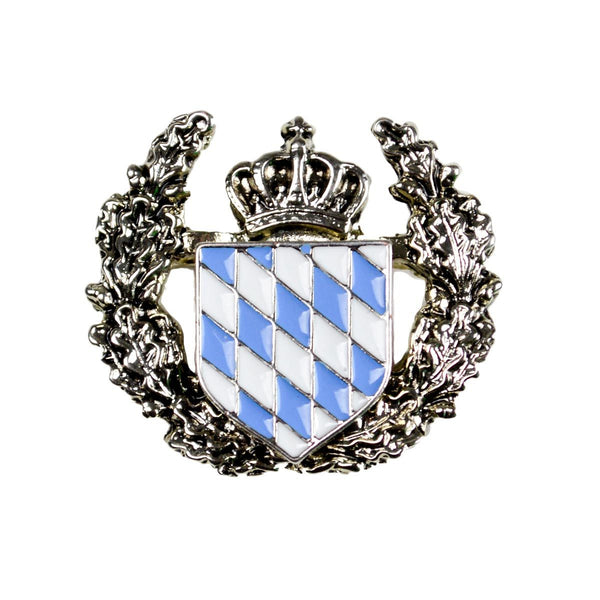 German Themed Bavarian Coat of Arms Hat Pin -1