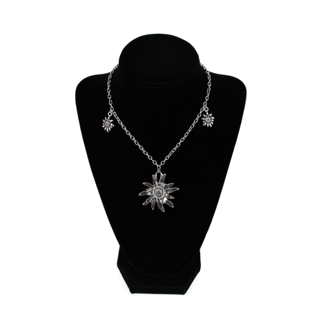 German Edelweiss Necklace - GermanGiftOutlet.com  - 1