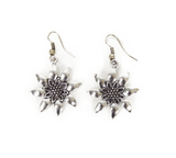 German Edelweiss Earrings - GermanGiftOutlet.com  - 1