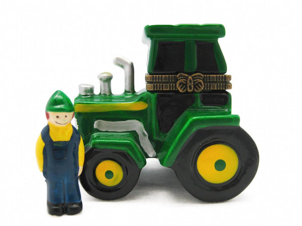 Jewelry Boxes Green Tractor - GermanGiftOutlet.com  - 1