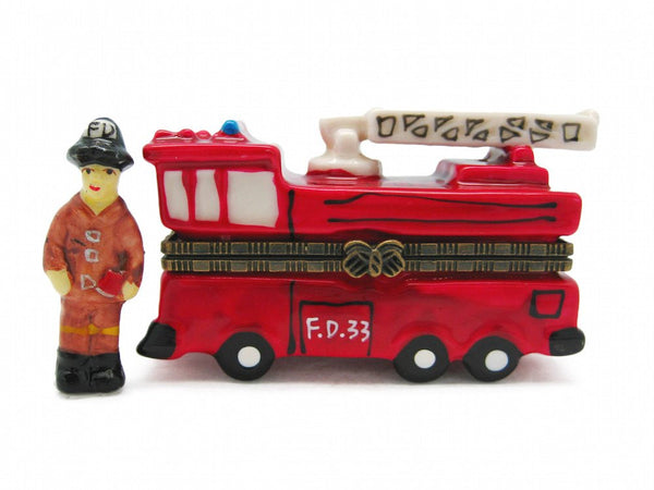 Jewelry Boxes Fire Truck - GermanGiftOutlet.com  - 1