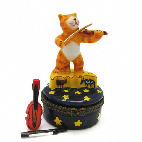 Children's Jewelry Boxes Cat & Fiddle - GermanGiftOutlet.com  - 1