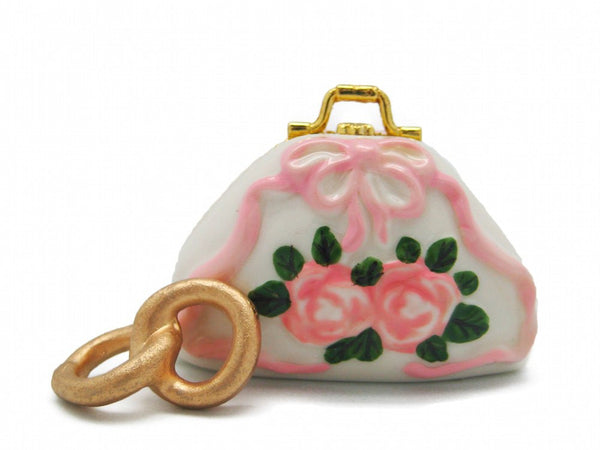 Treasure Boxes Pink Purse with Flowers - GermanGiftOutlet.com  - 1