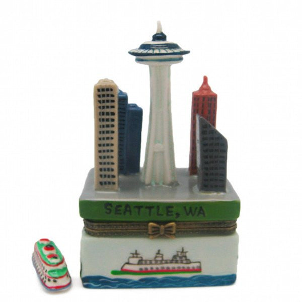 Seattle Souvenirs Treasure Boxes Seattle Downtown - GermanGiftOutlet.com  - 1