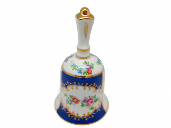 Vintage Victorian Antique Bell Jewelry Box Royal Blue - GermanGiftOutlet.com  - 1