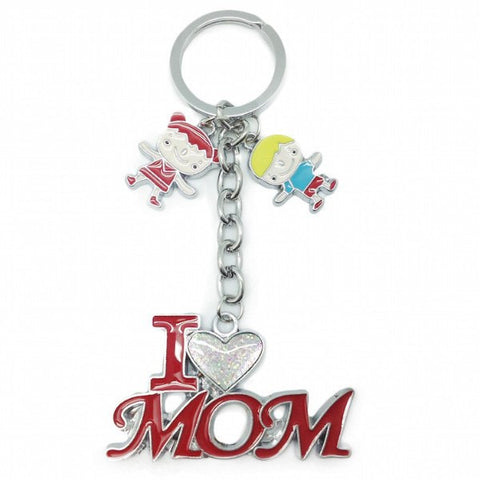 "Mom Gift Key Chain: ""I Love Mom"" - GermanGiftOutlet.com  - 1"