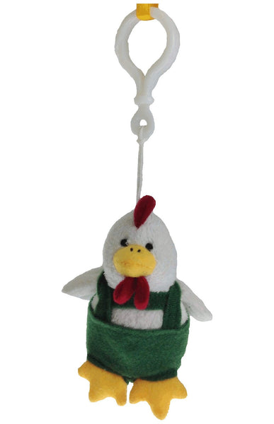 German Oktoberfest Chicken Keychain - GermanGiftOutlet.com  - 1