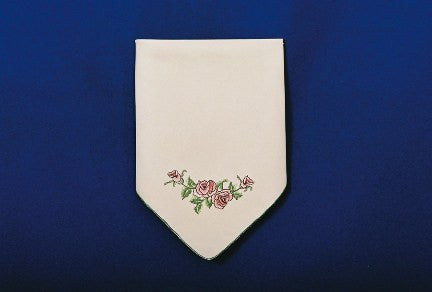 Elegant Table Linen Burgundy Rose Napkin - GermanGiftOutlet.com
