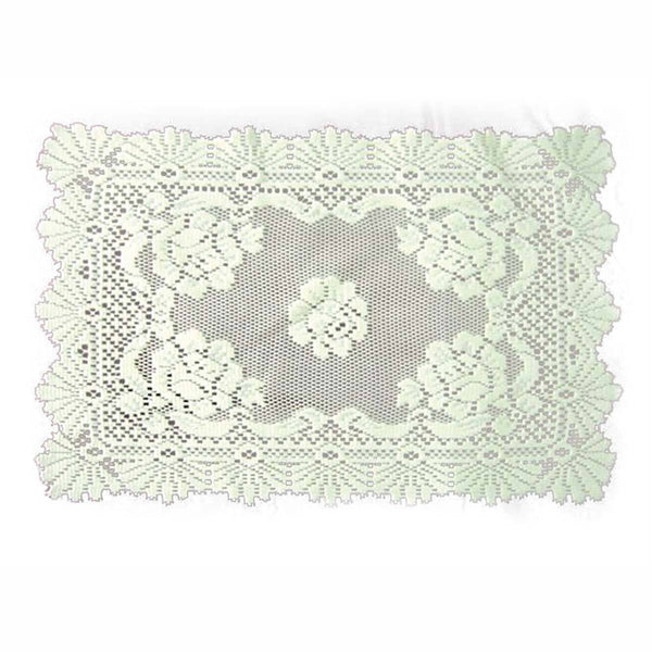 Oktoberfest Alpenrose Rectangular Ecru Table Linen-LI02