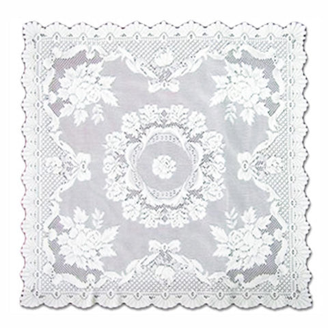 Oktoberfest Alpenrose Rectangular White Table Linen-LI02