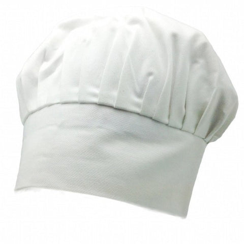 Chefs Hat (White with no design) - GermanGiftOutlet.com  - 1
